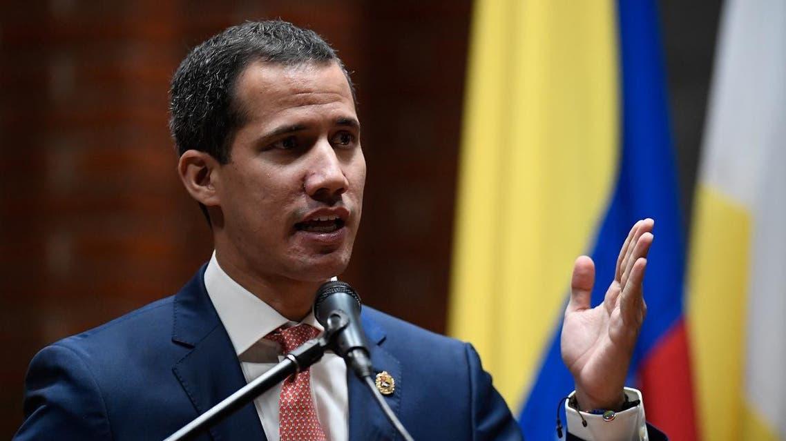 Venezuelan opposition leader Juan Guaido. (AFP)