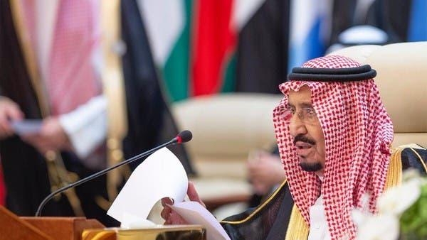 الملك سلمان: نظام إيران يهدد السلم والأمن الدوليين