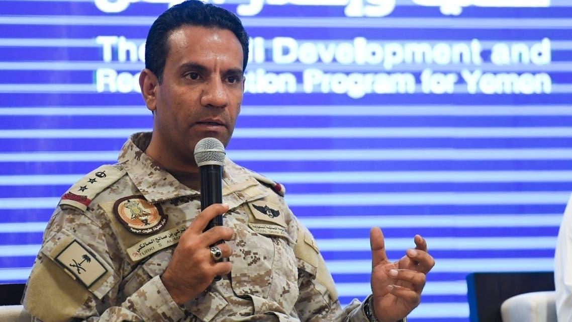 العقيد الركن تركي المالكي التحالف تحالف دعم الشرعية في اليمن turki al maliki malki