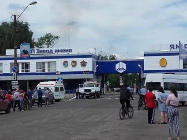 38 جريحاً بانفجار في مصنع متفجرات في روسيا