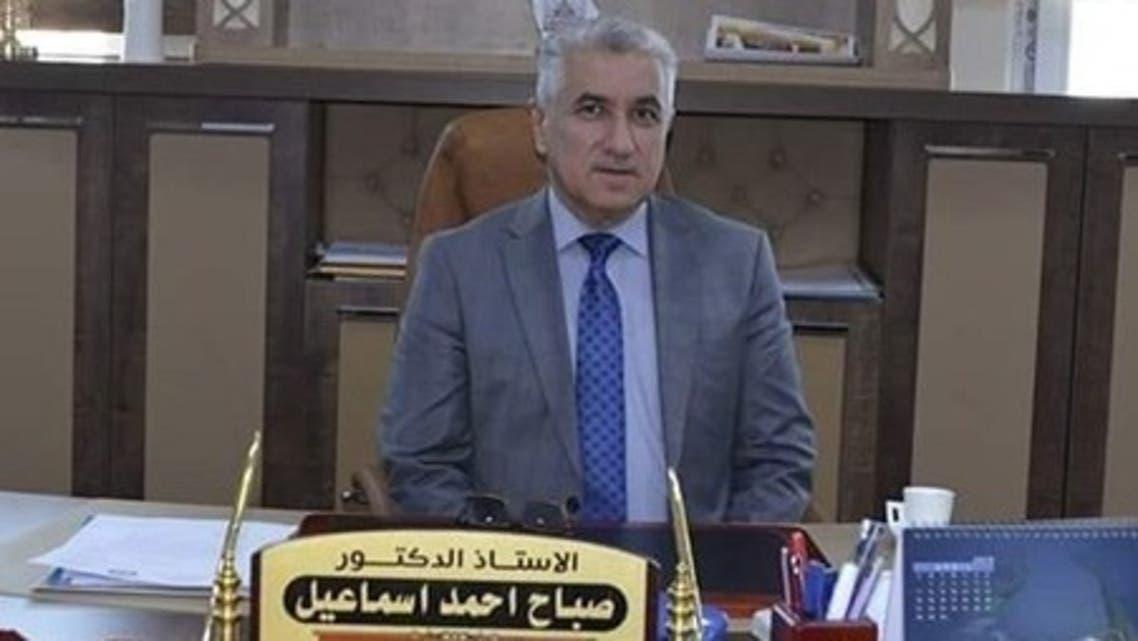 الرئيس الجديد لجامعة كركوك الدكتور صباح أحمد إسماعيل