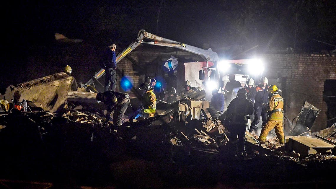 Russia blast - AFP