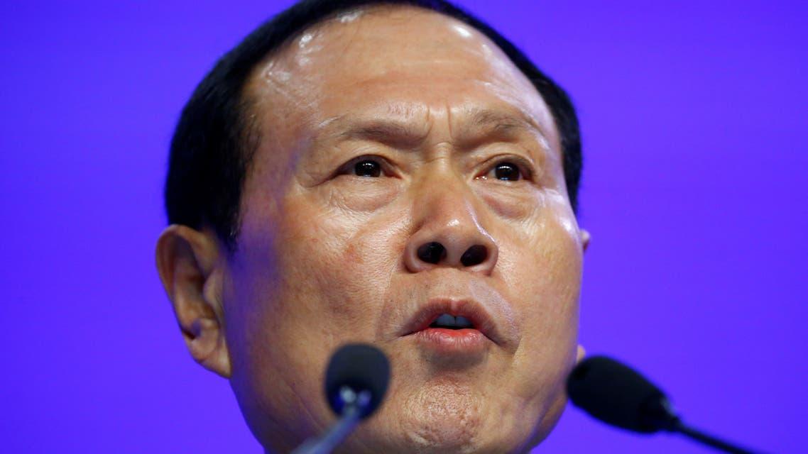 وزير الدفاع الصيني وي فنغ خه