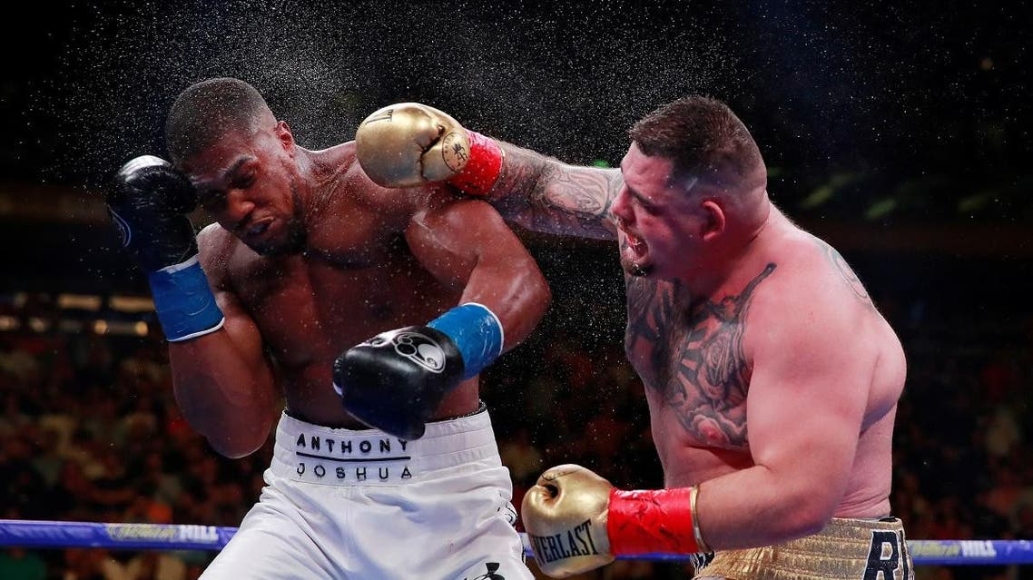 Anthony Joshua v Andy Ruiz Jr - WBA Super, IBF, WBO & IBO World Heavyweight Titles. (Reuters)