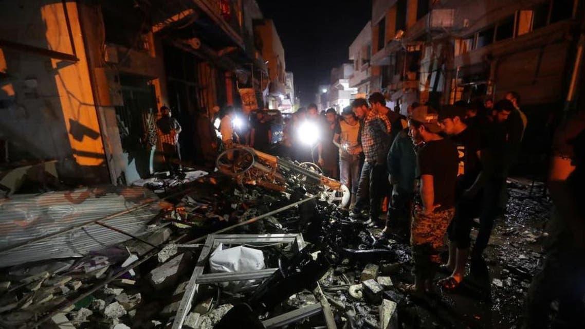 Near turkey Border a car explosion in Masjid