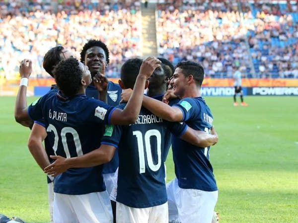 مونديال الشباب: تأهل الإكوادور وأوكرانيا إلى ربع النهائي