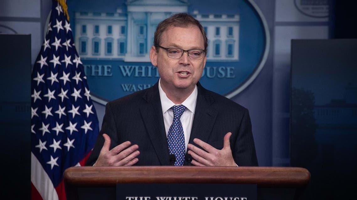 Trump economic adviser Kevin Hassett. (AFP)