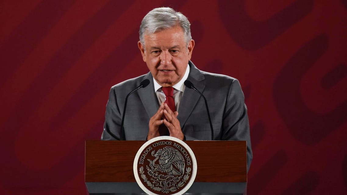 Mexican President Andres Manuel Lopez Obrador- AFP