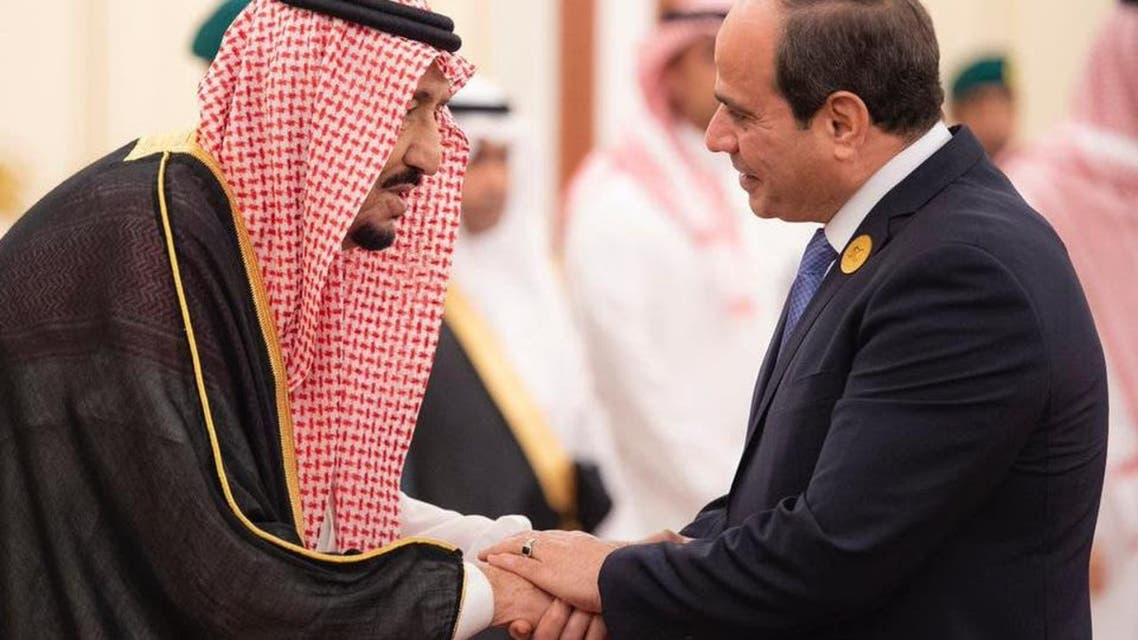 Abdual fatah SISI and Shah Salman