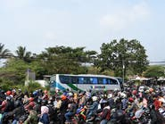 قبيل عيد الفطر.. مدن إندونيسيا الكبرى تفرغ من سكانها