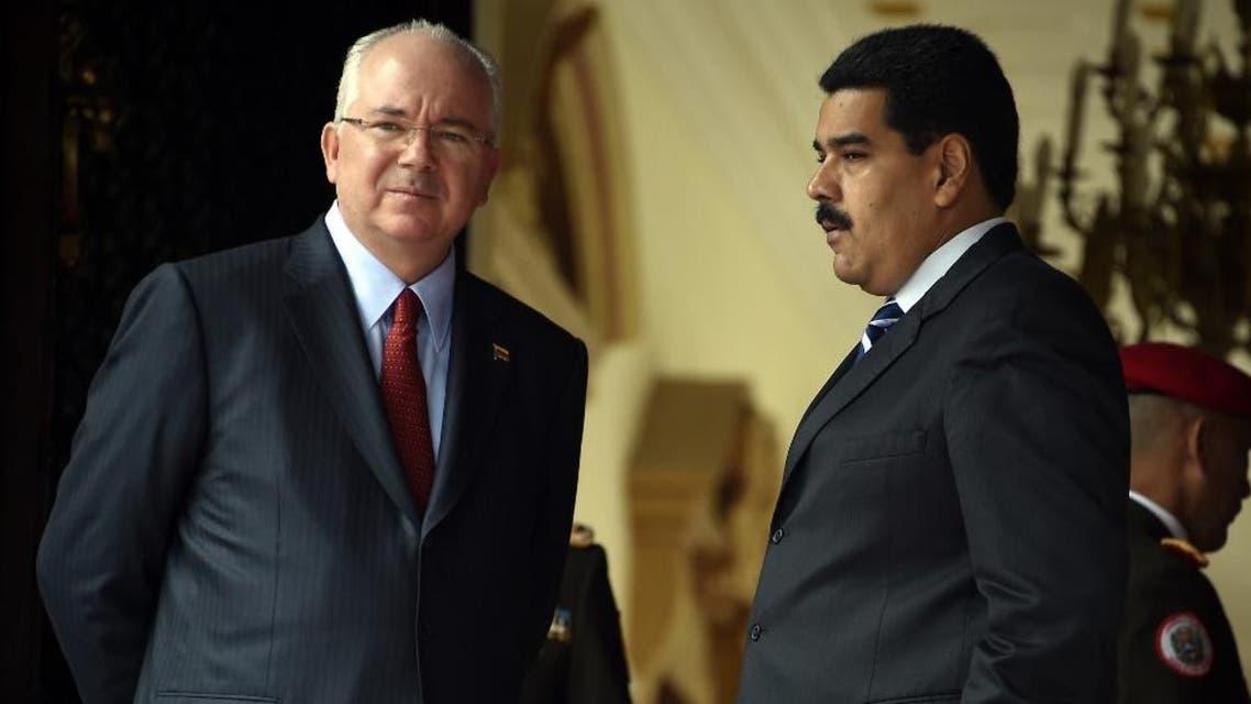 Ramirez - Maduro - AFP