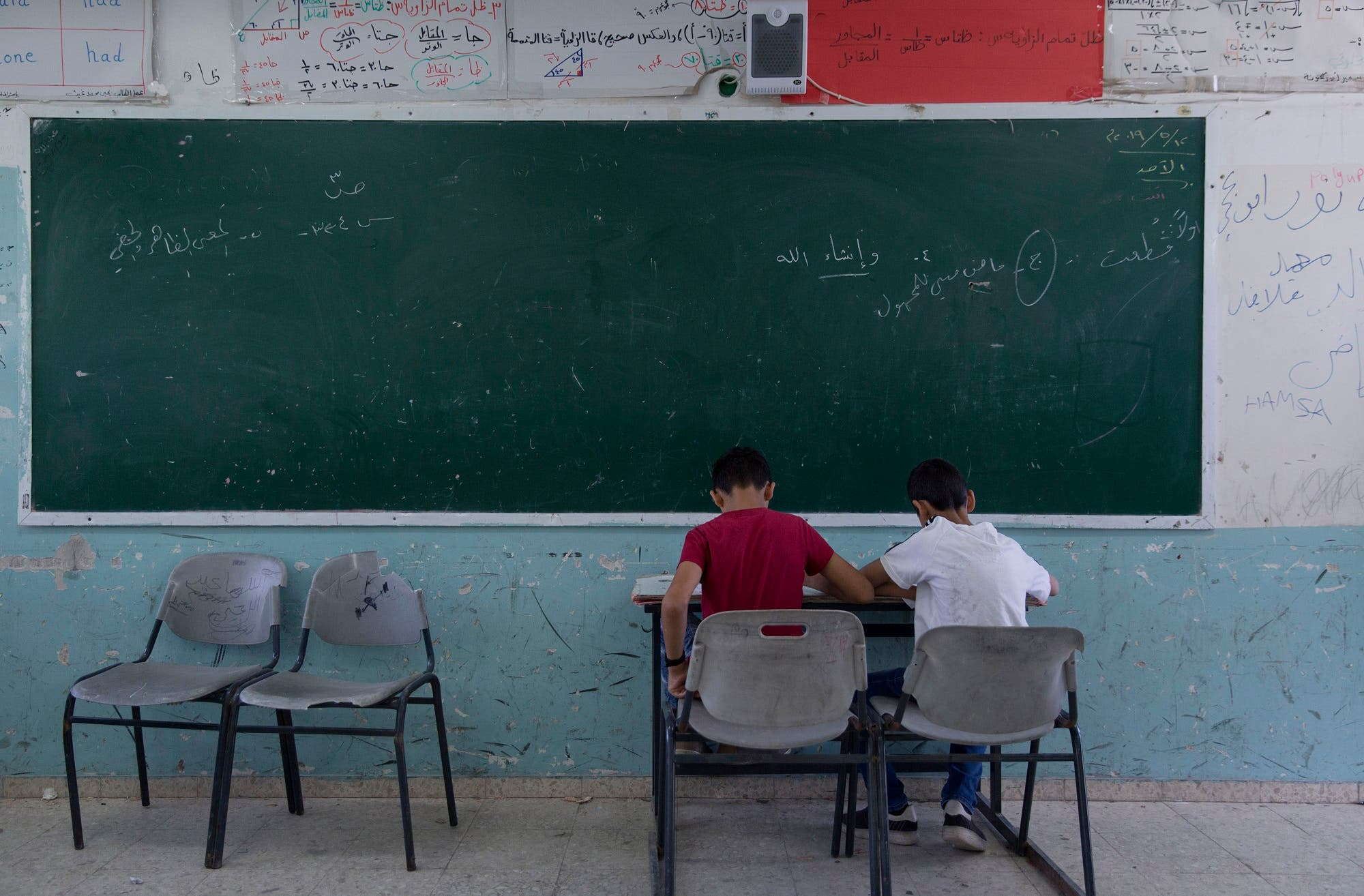 Palestine class - students - AP