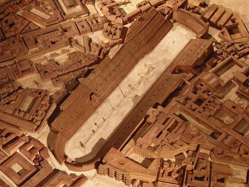 مجسم لسيركوس ماكسيموس