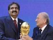 كأس العالم 2022.. اللعبة المزدوجة لبلاتر مع قطر