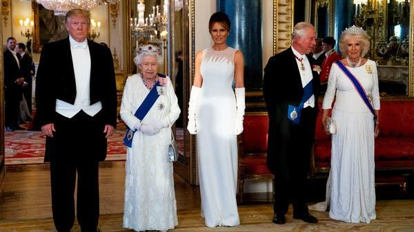 الملكة إليزابيث لترمب: القيم المشتركة توحد بين بلدينا