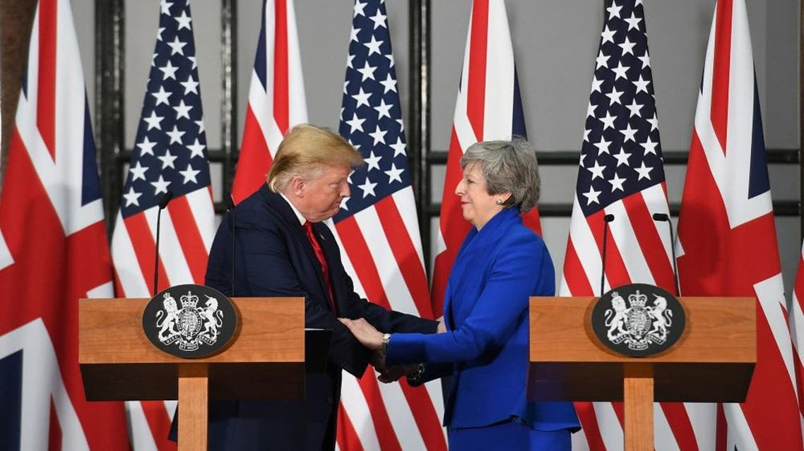 trump and may afp