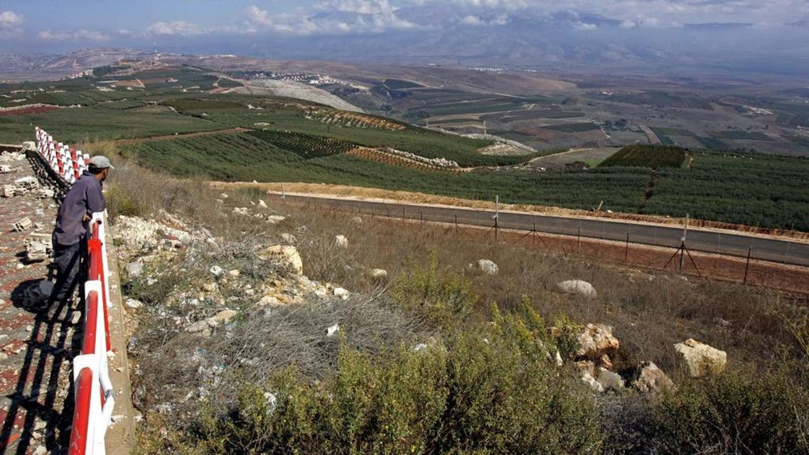 israeli lebanon borders afp