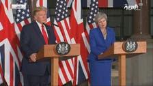 امریکا اور برطانیہ ایران کو جوہری ہتھیار تیار نہیں کرنے دیں گے: ڈونلڈ ٹرمپ