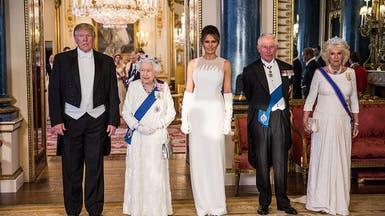 الأبيض كان سيّد الألوان خلال زيارة ترمب للملكة