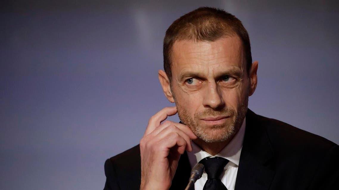 UEFA President Aleksander Ceferin. (AP)
