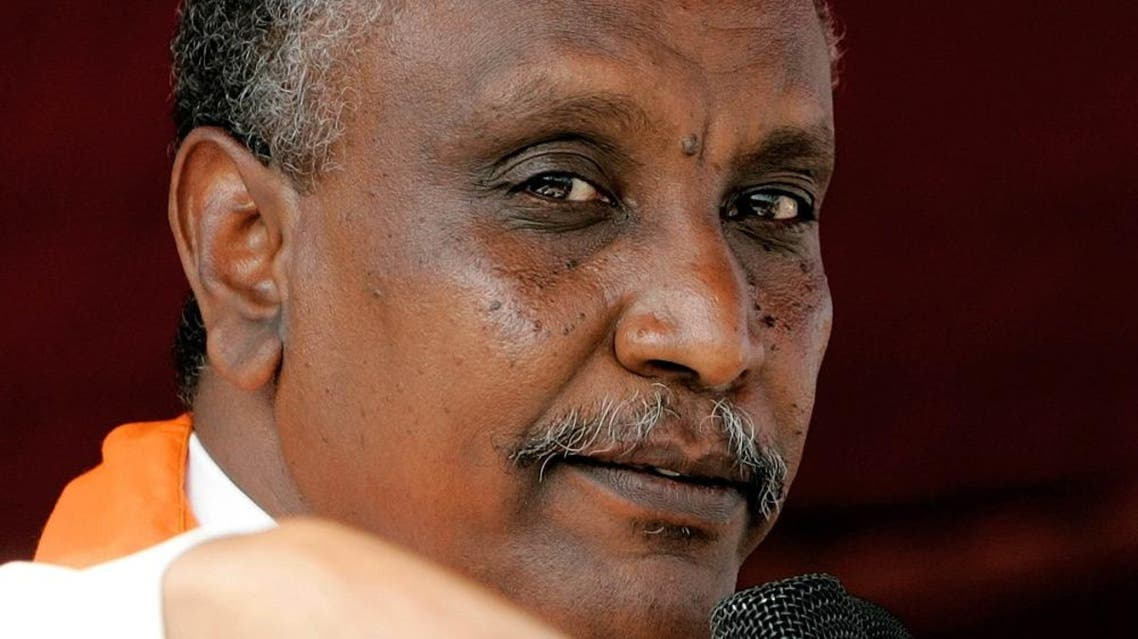 Yasir Arman - head of the Sudan People's Liberation Movement. (AFP)