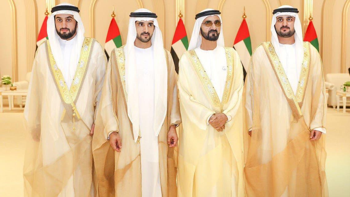 حفل زفاف أبناء حاكم دبي