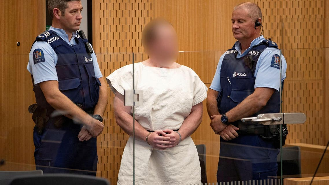 Brenton Tarrant in the dock during his appearance in the Christchurch District Court on March 16, 2019. (Reuters)