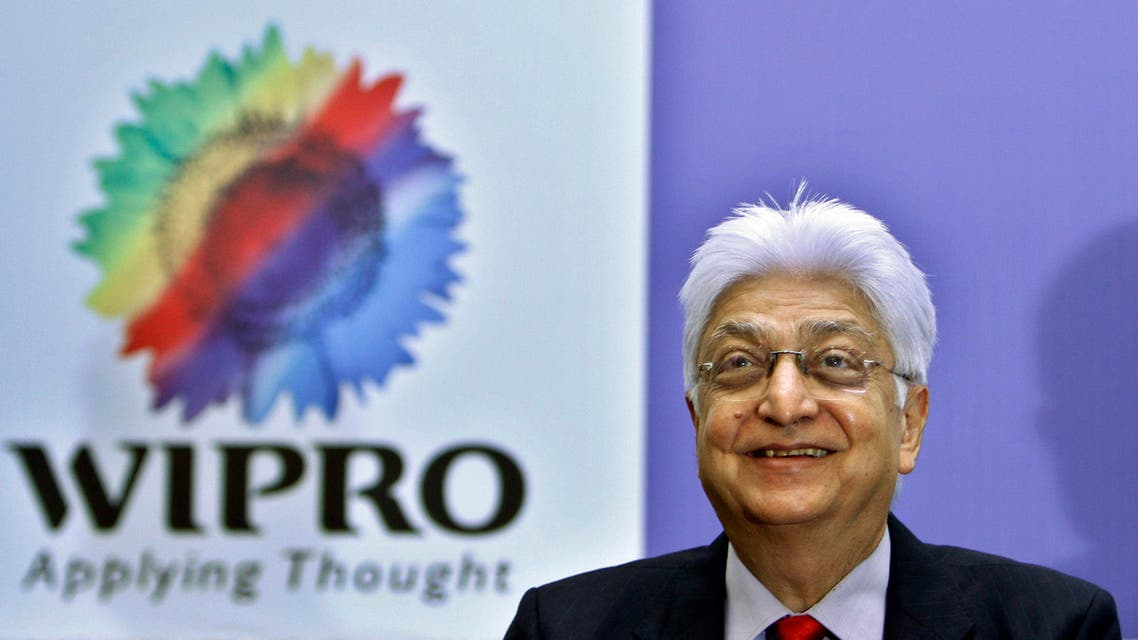 Azim Premji after presenting company's quarterly financial results at their headquarters in Bangalore on July 23, 2010. (AP)