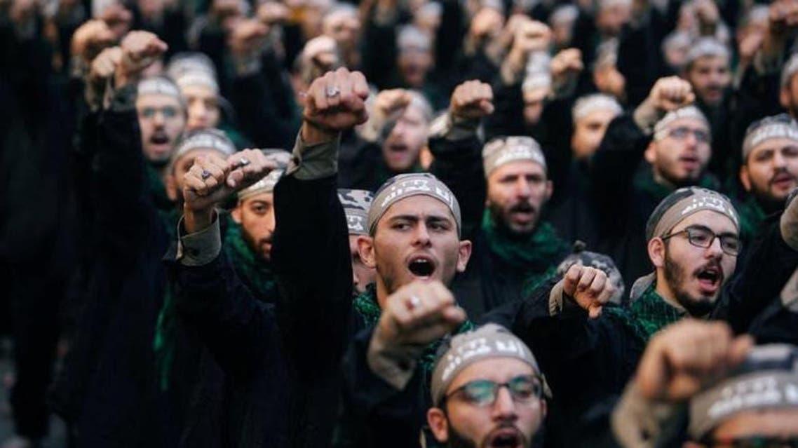 Lebanon's Hezbollah supporters chant slogans during last day of Ashura, in Beirut, Lebanon September 20, 2018. (Reuters)
