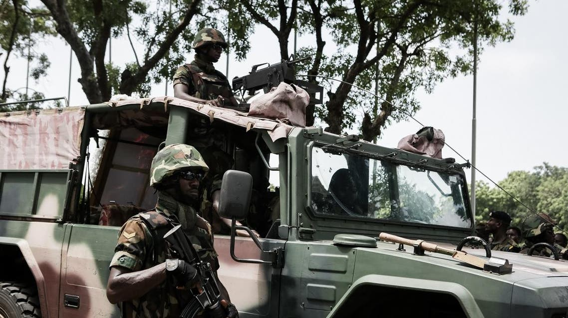 File photo of Ghanian soldiers in Kumasi central city. (AFP)