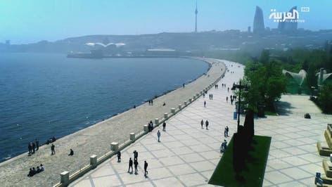 السياحة عبر العربية في أذربيجان مع ليث بزاري