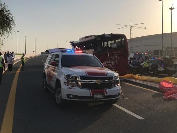 حادث مروع في دبي..  مقتل 17 شخصاً بشارع محمد بن زايد