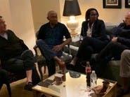 رئيس الاتحاد الإفريقي يجتمع مع هاني أبو ريدة