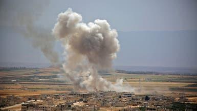101 قتيل في معارك عنيفة قرب إدلب