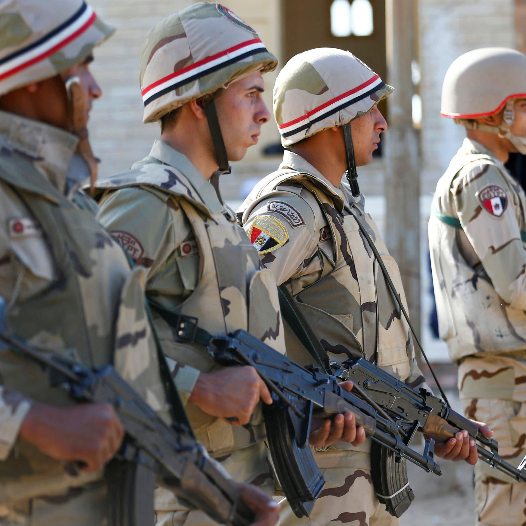 مصر.. الجيش يصفي 13 إرهابياً خلال مواجهات في سيناء