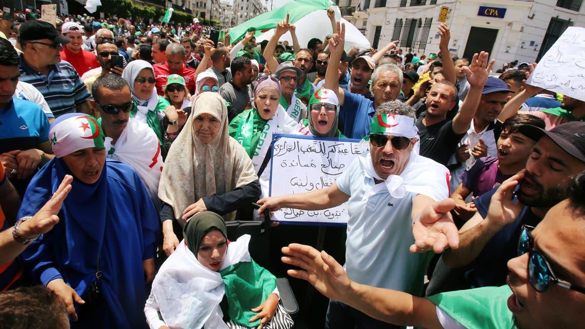 من تظاهرات الجزائر