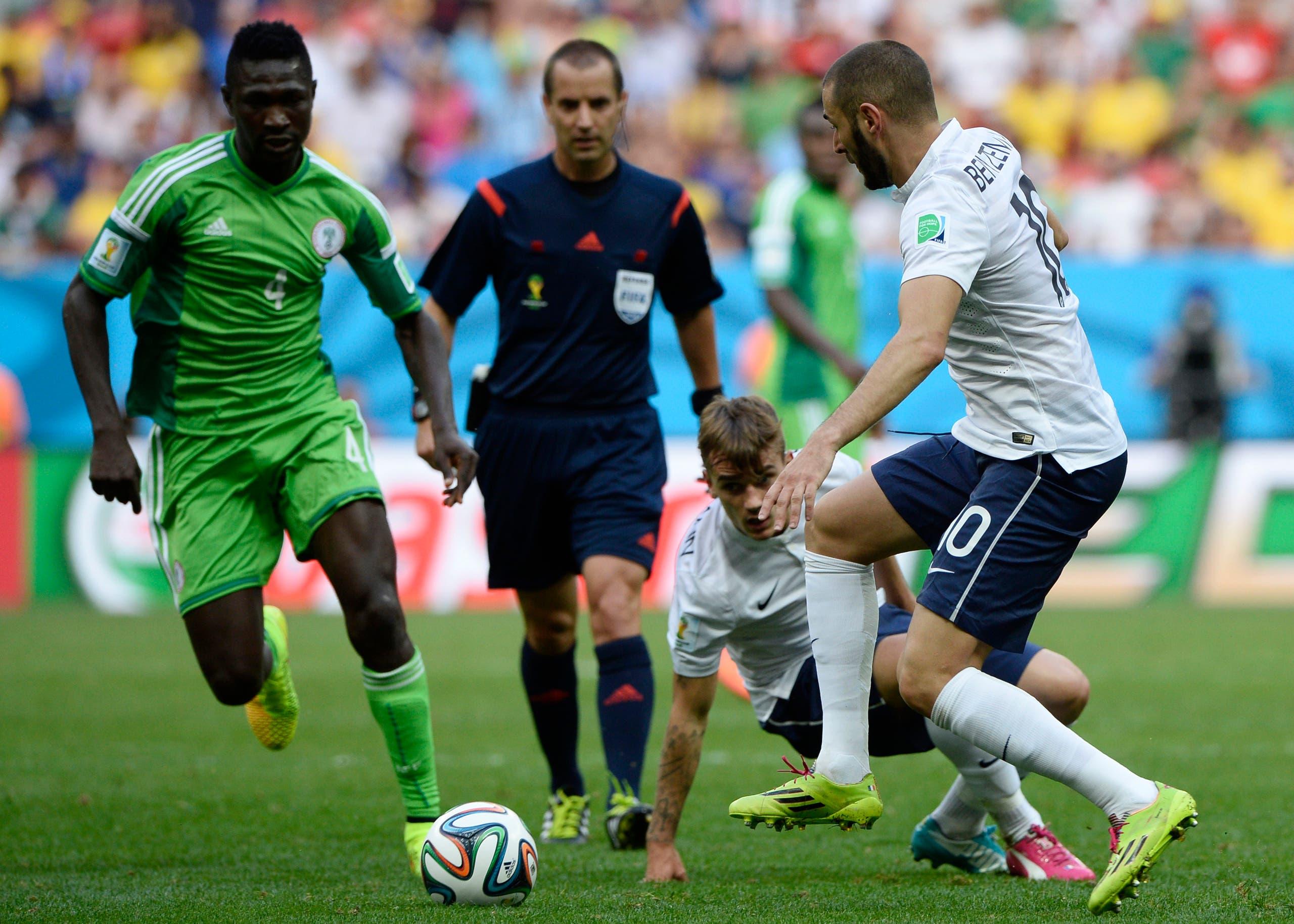 غابرييل أمام فرنسا في مونديال 2014