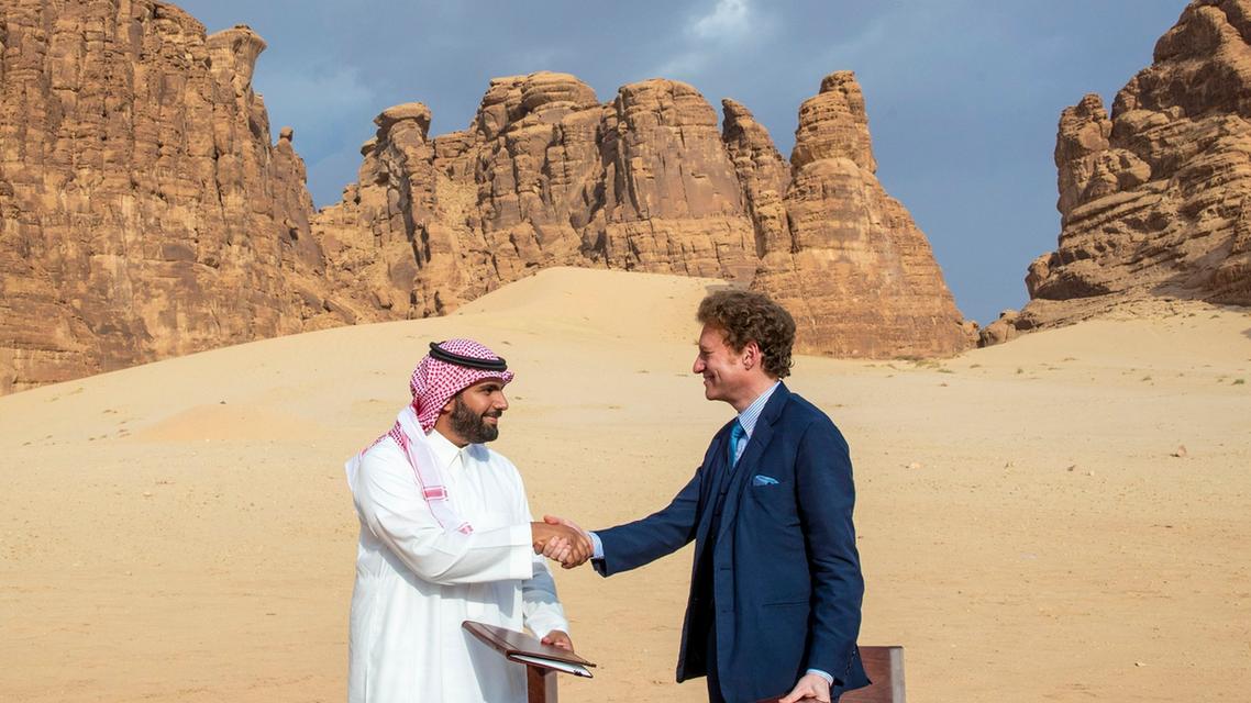 Al Ula - Panthera - Prince Badr bin Abdullah bin Farhan - Supplied