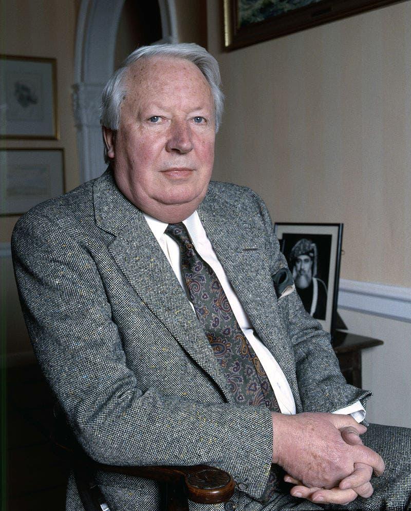 صورة لرئيس الوزراء البريطاني إدوارد هيث