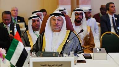 قرقاش: إعلام قطر يروج لأخبار كاذبة حول وجودي بالخرطوم