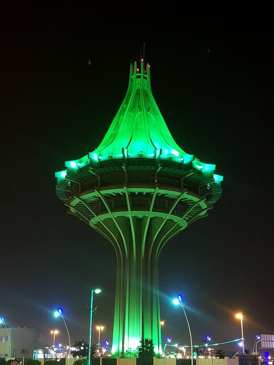 برج المياه الشهير أيقونة المدينة