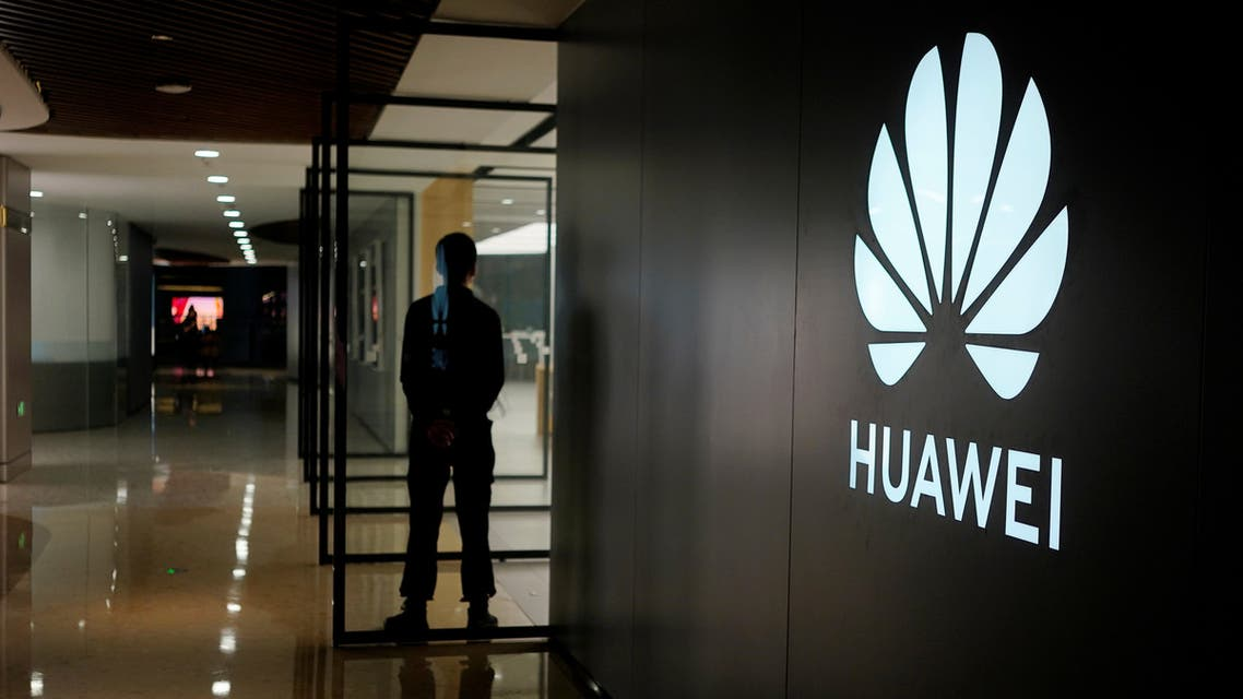A Huawei company logo is seen at a shopping mall in Shanghai, China June 3, 2019. Picture taken June 3, 2019. REUTERS/Aly Song