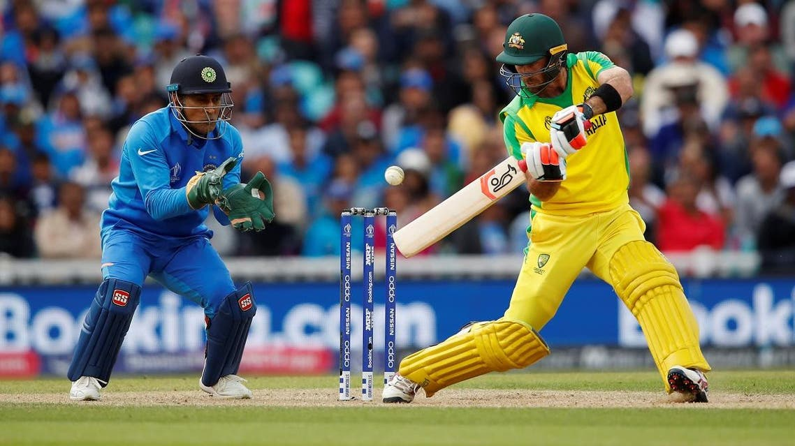 Australia's Glenn Maxwell in action against India at The Oval, London, on June 9, 2019. (Reuters)