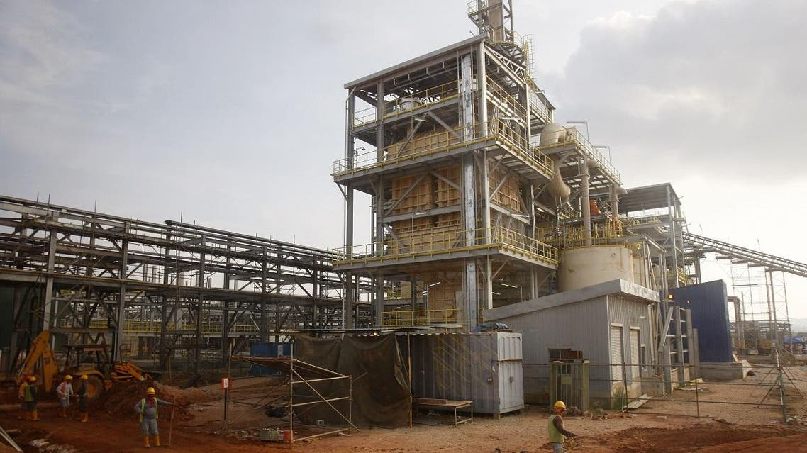 Lynas rare earth plant in Gebeng, eastern Malaysia. (AP)