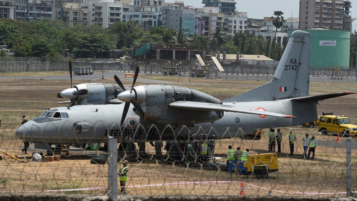 Indian air force plane - AFP