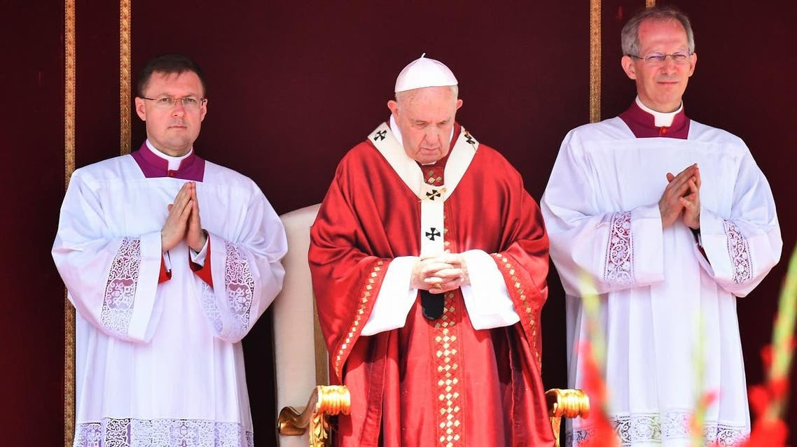 Pope Francis on Sunday appealed for peace in Sudan. (AFP)