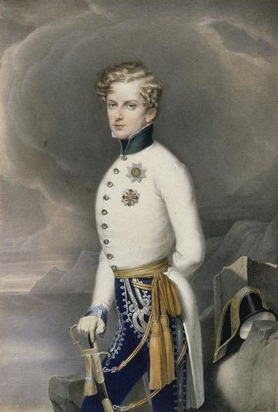 رسم تخيلي لنابليون الثاني