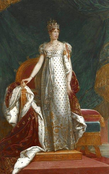 صورة لزوجة نابليون بونابرت الأميرة النمساوية ماري لويز