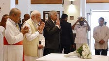 India's Modi visits bombed Sri Lanka church, vows support after attacks