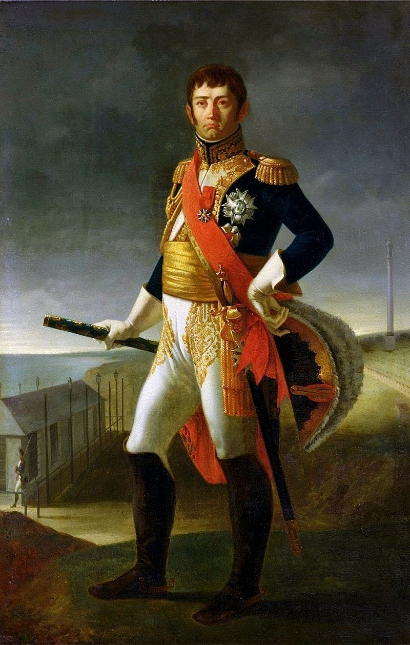 صورة للجنرال جان دو ديو سول